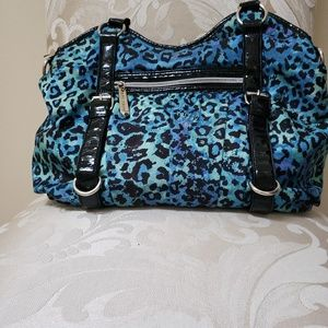 Fun, cheetah print bag